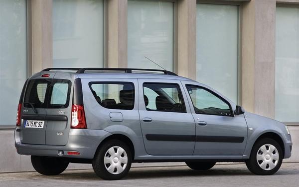 Foto - 2007 – 2009 model Dacia Logan