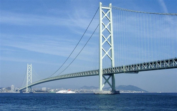 Dünyanın en uzun 10 asma köprüsü arasında hali hazırda Türkiye'den üç köprü var, Çanakkale 1915 Köprüsü tamamlandığında ise bu rakam 4'e yükselecek. İlk sırada Japonya'nın Kobe şehrinde bulunan Akashi Kaikyo köprüsü yer alıyor. 1988 senesinde yapılan köprünün açıklığı 1991 metre.