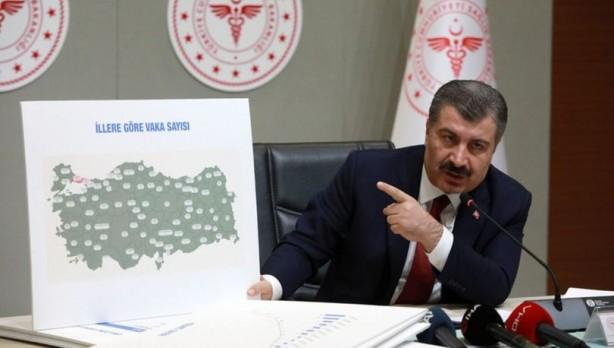 Foto - Vatandaşların Sağlık Bakanı Fahrettin Koca'nın her gün açıkladığı rakamlara güvenirliği yüzde 75 oldu.