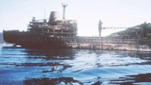 Foto - 2018'de 225 metre boyundaki dökme yük gemisi, Anadolu Hisarı'ndaki Hekimbaşı Salih Efendi yalısına çarptı.