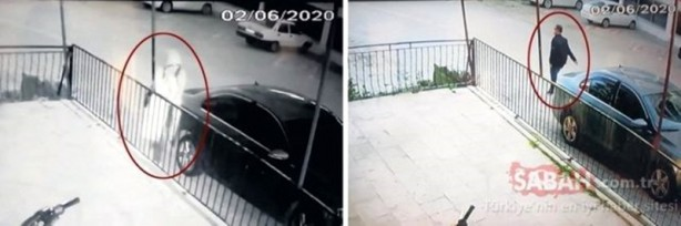 Foto - SANİYE SANİYE KAYDEDİLDİ İki sevgilinin geçtiğimiz 2 Haziran'daki buluşma görüntüleri, bölgede bulunan kameralar tarafından saniye saniye kaydediliyor.