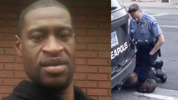 Foto - ABD'nin Minneapolis kentinde siyahi George Floyd, 25 Mayıs'ta beyaz bir polisin uzun süre diziyle boğazına basması sonucu nefessiz kalarak hayatını kaybetti. Floyd'un polis şiddetiyle öldürüldüğü anlar yurttaşların kameralarına yansıdı ve görüntüler daha sonra dünya gündeminde ilk sıralara yerleşti. Polisin sert müdahalesine maruz kalan siyahi adam çevredekilerin gözleri önünde hayatını kaybetti Floyd'un ölümü ABD'de ülke geneline yayılan ve günler süren ırkçılık ve polis şiddeti karşıtı protestoların fitilini ateşledi. ABD'de başlayan protestolar kısa zaman içinde dalga dalga dünyaya yayıldı. ABD Temsilciler Meclisi haziran ayının son haftasında Floyd'un öldürülmesiyle gündeme gelen ve emniyet güçleri tarafından aşırı güç kullanılmasını yasaklayan tasarıyı onayladı.