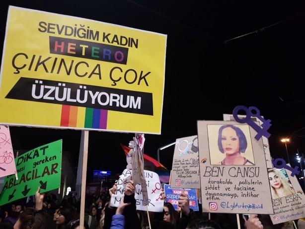 Foto - İstanbul Sözleşmesi ile ilgil 16 maddelik açıklamada bulunan KADEM, sözleşmenin eşcinselliği meşrulaştırmadığını iddia etmiş ve eleştirenleri 'kötü niyetli' diyerek hedef almıştı.