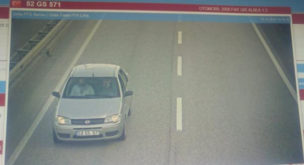 Foto - Görüntülerin detaylarında şüphelilerin olaydan önce araç kiraladıkları ve plaka tanıma sistemi geçiş görüntülerinin bulunduğu belirlendi.