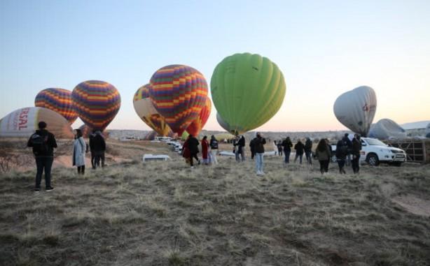 Kapadokya'ya turist akını