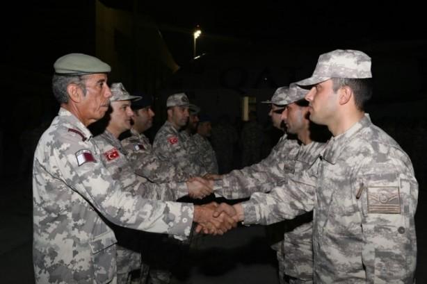 Katar'a askeri sevkiyat