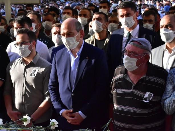 Foto - Süleyman Soylu'nun da katılımıyla Mehmet Abdi Bulut'a son görev yerine getirildi.