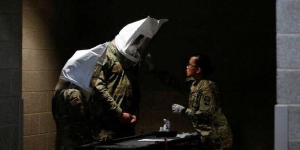 Foto - Military Times'ın haberine göre, Ortadoğu'dan gelen ABD askerleri önümüzdeki iki hafta boyunca Kuzay Carolina'da bulunan askeri üssde karantina altına alınacak olup, internete erişim sağlama hakkını sahip olabilecekler.