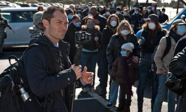 Foto - Steven Sodeberg'in yönettiği filmde, Gwyneth Paltrow, Matt Damon, Jude Law, Kate Winslet gibi oyuncuların yer alıyor.