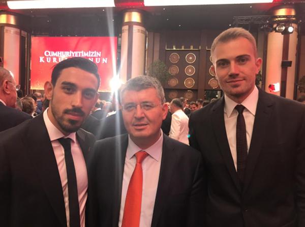 Foto - İrfan Can Kahveci, Mehmet Acet, Mert Günok