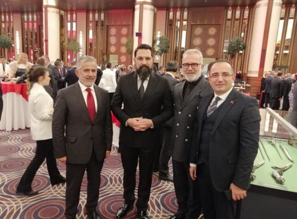 Foto - Haber 7 Genel Yayın Yönetmeni Osman Ateşli, Bülent İnal, Bahadır Yenişehirlioğlu ve Ekrem Kızıltaş