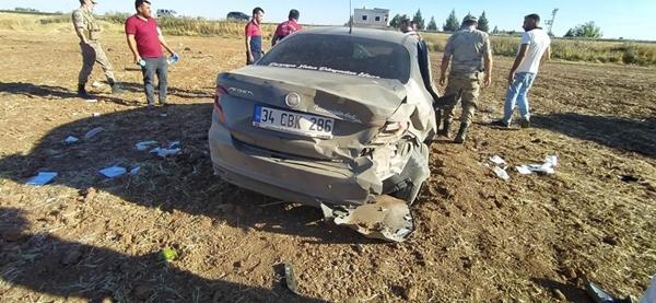 Mardin'de otomobil kazası: Yaralılar var