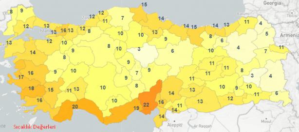 Foto - Yağışların; Giresun, Trabzon, Rize ve Artvin çevreleri ile Ordu'nun doğu ilçelerinde kuvvetli (20-50 kg/m²) olması bekleniyor.