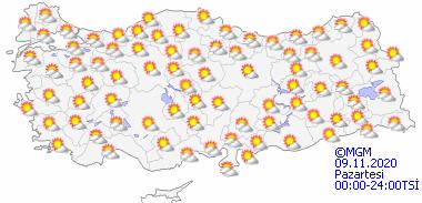Foto - RÜZGARA DİKKAT - Rüzgarın Marmara'nın güneybatısı ve Kuzey Ege ile Batı Akdeniz'in Toroslar kesiminde kuzey ve kuzeydoğu yönlerden kuvvetli (40-60 km/sa) olarak esmesi bekleniyor.