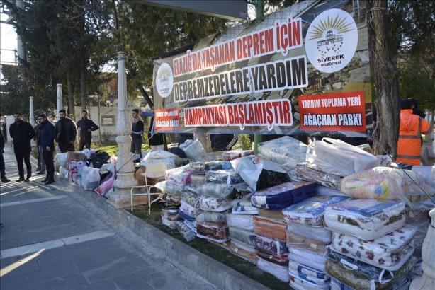 Milletçe kenetlendik... Deprem bölgesi için tüm yurtta yardım seferberliği