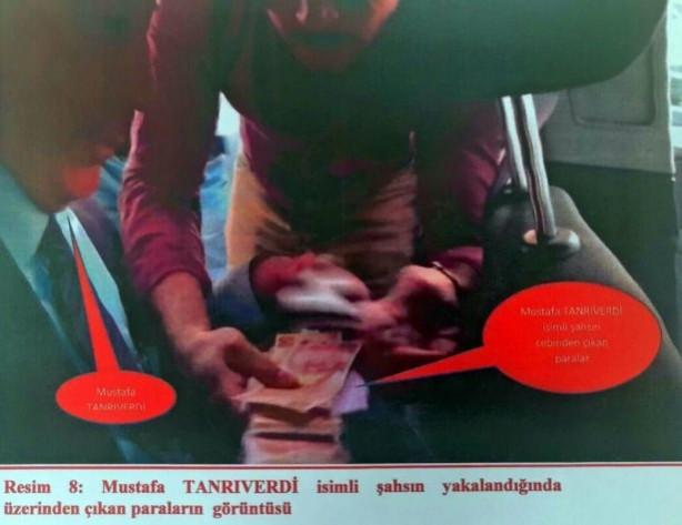 Tutuklanarak cezaevine gönderilen MKE Kırıkkale Silah Fabrikası Müdürü Mustafa Tanrıverdi'ye karşı soruşturma bir ihbar üzerine başladı.