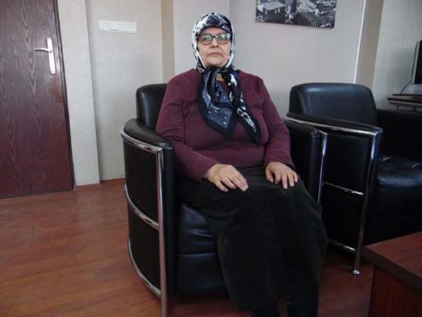 Samsun'da 61 yaşındaki Fahriye Özdemir, tedavi için gittiği hastanede aşırı kilodan dolayı MR cihazına giremeyince 21 ayda 85 kilo verdi.
