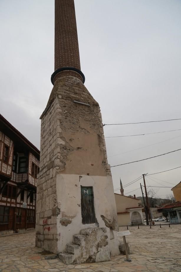 Nadide bir yapı: Kılıç Mescid Minaresi