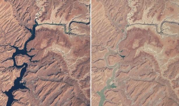 NASA paylaştı! Endişelendiren görüntüler
