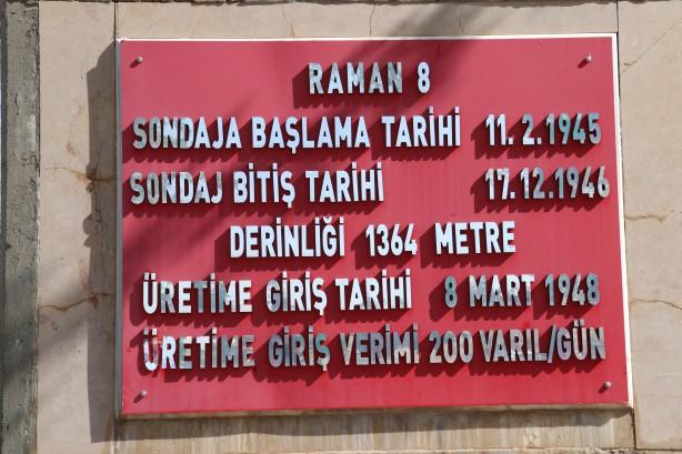 Foto - Türkiye'de petrol üretiminin ilk kez gerçekleştirildiği Raman-8 kuyusu 72 yıldır faaliyetini sürdürüyor.