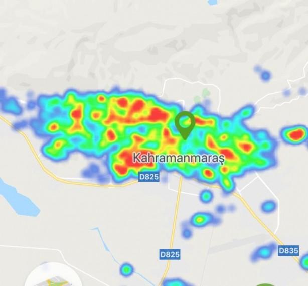 Foto - Kahramanmaraş'ta son 1 ayda yaşanan yüzde 25 artış Hayat Eve Sığar uygulamasındaki yoğunluk tablosuna böyle yansıdı.