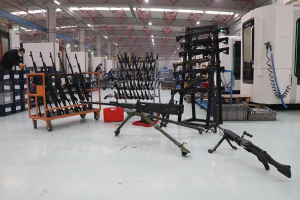 SAR 762 MT'nin seri üretimi resmen başladı