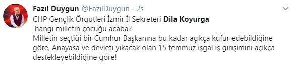 Foto - Sosyal medyada Dila Koyurga'ya ve CHP'ye tepki yağdı. İşte o tepkiler...