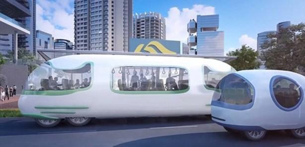 Bilimkurgu filmlerini anımsatan sürücüsüz otobüs projesi için son aşamaya gelindi.
