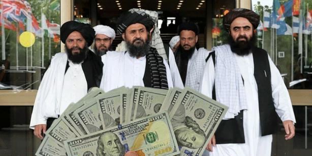 Taliban'dan 'dolar' hamlesi