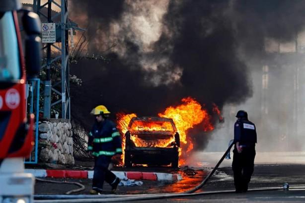 Terör devleti İsrail yine vuruyor