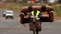 Bir motosikletle neler taşınabilir?