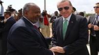 Cumhurbaşkanı Erdoğan'a müthiş karşılama töreni