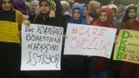 Din Kültürü öğrencilerinden protesto