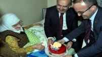 Doğum gününü Müezzinoğlu'yla kutladı