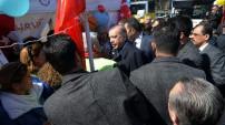 Erdoğan 'Hayır' standında!