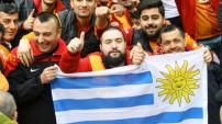 Fenerbahçe - Galatasaray derbisinden kareler
