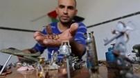 İsrail kurşunlarını sanat eserlerine dönüştürüyor