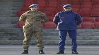 Jandarma yeni kıyafetleriyle görev başında