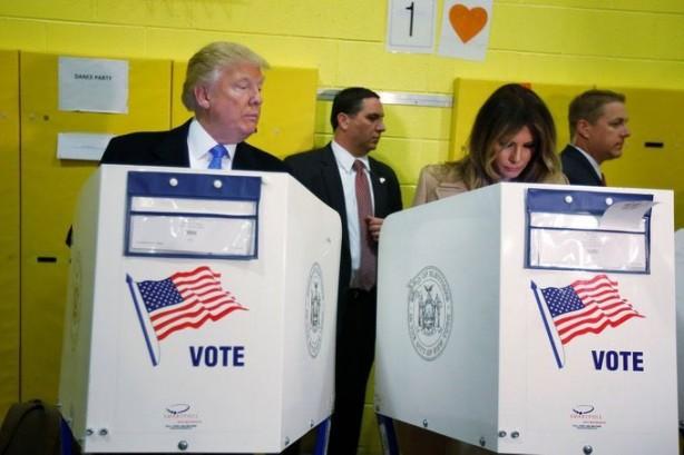 Trump kime oy kullandığını açıkladı! Gazetecileri yine ters köşe yaptı