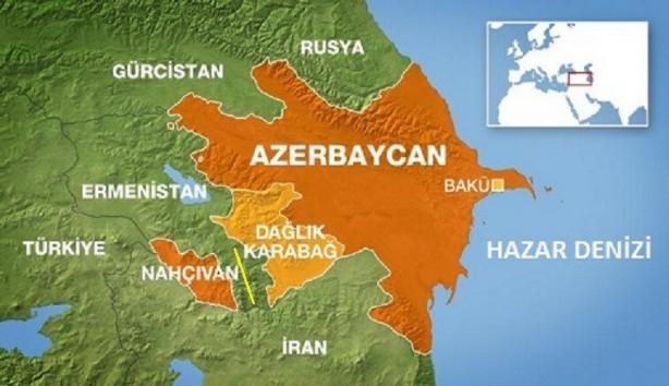 Foto - (Sarı çizgiyle gösterilen bölge Zengezur) ZENZEGUR DA ALINIRSA BİRLİK SAĞLANIR! Devlet Bahçeli'nin, Nahçıvan'ın özerk bir cumhuriyetten, Azerbaycan'a ait bir bölge olması gerektiği ile ilgili çıkışının gerçekleşebilmesi için sadece Karabağ'ın özgürleşmesi de yetmiyor. Sovyetlerin zamanında Türk Dünyası'nın birleşmesini engellemek için oluşturduğu küçük koridor Ermenistan sınırları içerisinde.