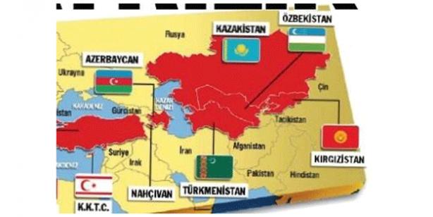 Foto - Ege'den başlayan Türk egemenliği Hazar'a kadar kesintisiz devam ederken Hazar'ın kıyısında yer alan; Türkmenistan'dan, Kazakistan'a, Kırgızistan'dan, Özbekistan'a Turan coğrafyası bir bütün haline gelebilecek.