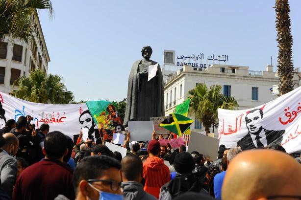 Tunus'taki siyasi ve ekonomik kriz protesto edildi