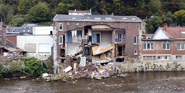 Türkiye bir kaç günde başarırken, Belçika 3 aydır sel felaketinin izlerini silemedi