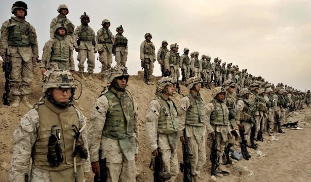 Foto - Kabil Hükümeti'nin güç kaybedişini izleyen ABD, Afganistan'a bu sabah saatlerinde 3 tabur asker gönderdi.