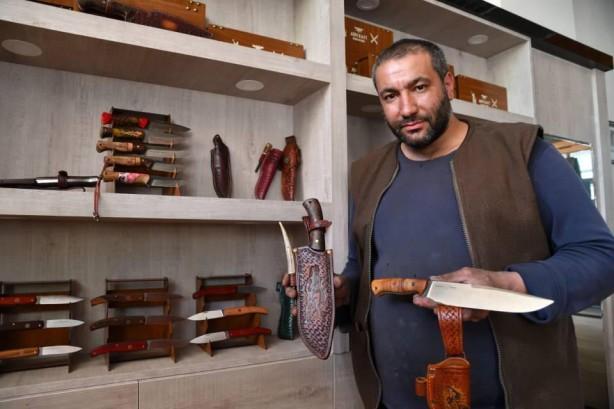Ürettiği bıçakları ABD ve Katar'a satıyor