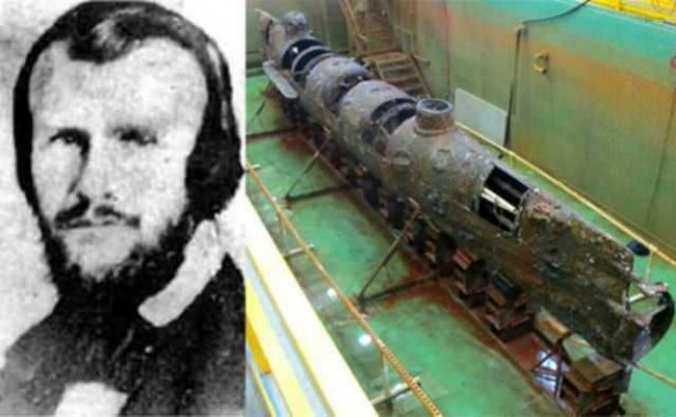 Foto - Horace Hunley (1823-1863) İCADI: Denizaltı... SONU: Test denemesinde boğularak hayatını kaybetti.
