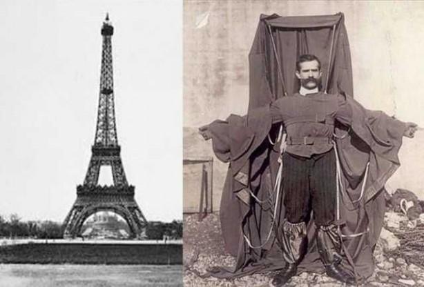 Foto - Alexander Bogdanov (1879-1912) İCADI: Paraşüt... SONU: Paraşütle Eyfel kulesinden yere çakılarak hayatını kaybetti.