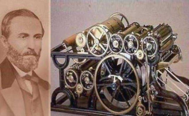 Foto - William Bullock (1813-1867) İCADI: Dönerbasar... SONU: Test esnasında ayağı ezildi ve kangrenden öldü.