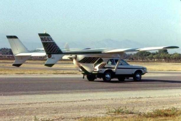 Foto - Henry Smolinski (1933-1973) İCADI: Uçan araba... SONU: Uçuş esnasında aracın sağ kanadı araçtan ayrılmasıyla hayatını kaybetti.