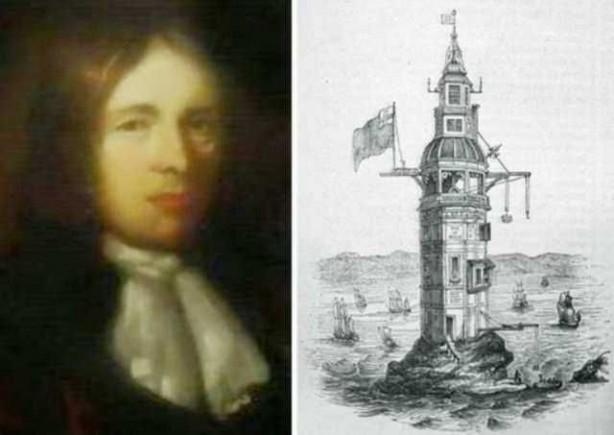 Foto - Henry Winstanley (1644-1703) İCADI: Deniz feneri... SONU: Fırtınalı bir günde, deniz fenerinde boğularak öldü